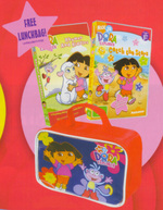 Dora The Explorer - Rhymes And Riddles / Catch The Stars (BONUS Lunch Box) (2 Disc Box Set) on DVD