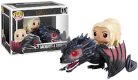 Game of Thrones - Drogon & Danaerys Pop! Rides Set