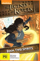 Legend Of Korra: Book Two: Spirits on DVD