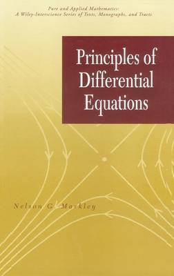 Principles of Differential Equations by Nelson G. Markley