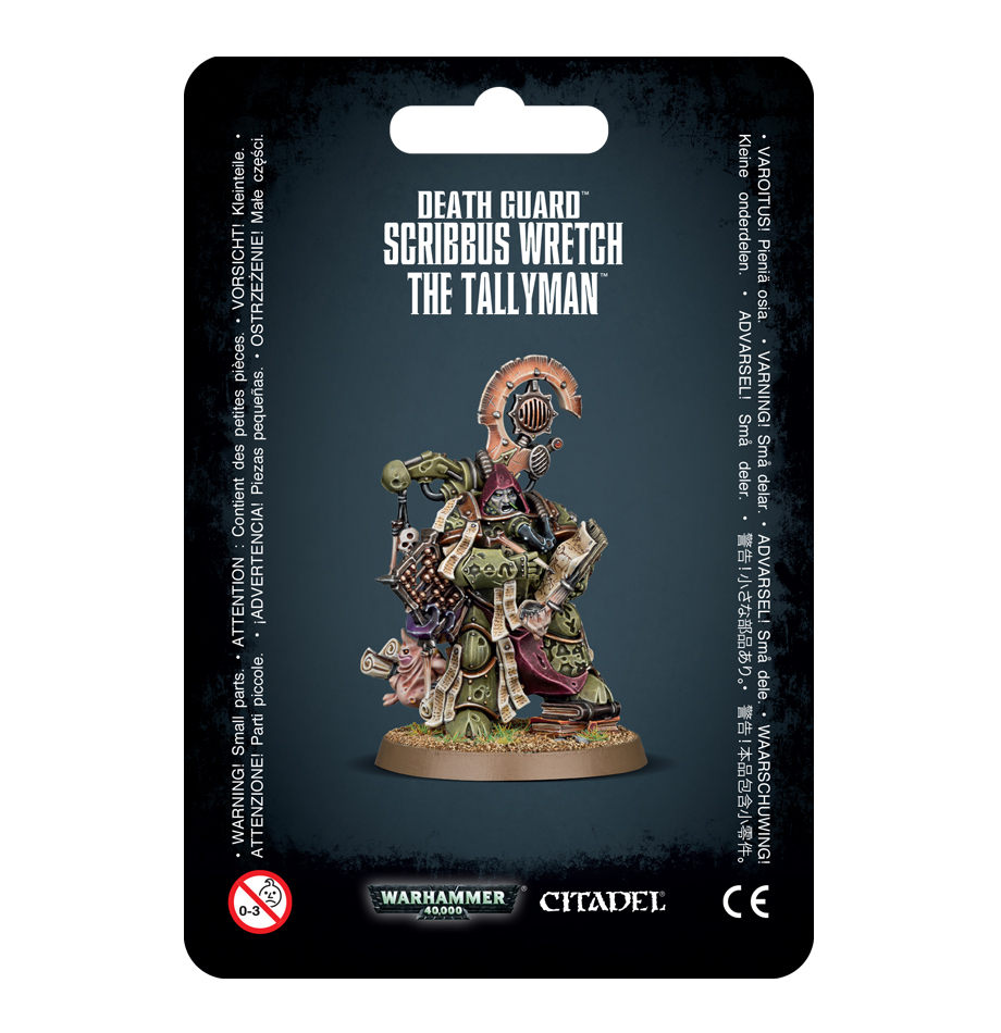 Warhammer 40,000: Death Guard - Scribbus Wretch image