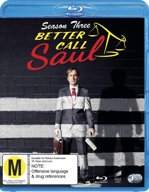 Better Call Saul Season 3 on Blu-ray