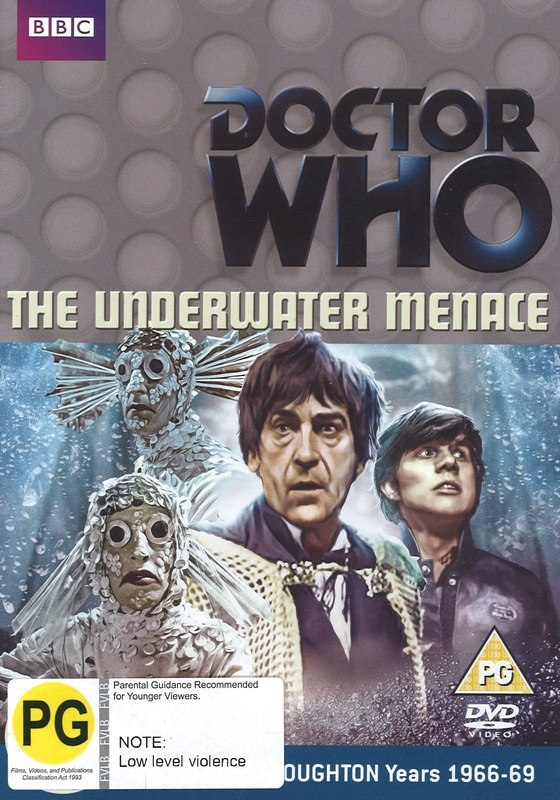 Doctor Who: The Underwater Menace on DVD