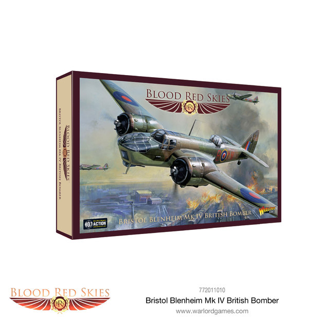 Blood Red Skies: Bristol Blenheim Mk IV British Bomber