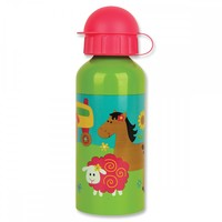 Stephen Joseph Stainless Steel Water Bottle - Girl Farm