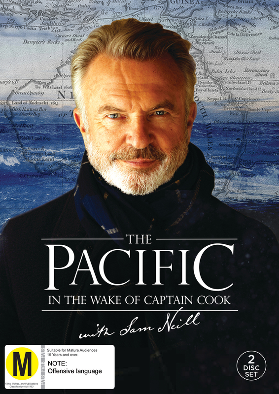 The Pacific: In The Wake Of Captain Cook With Sam Neill on DVD