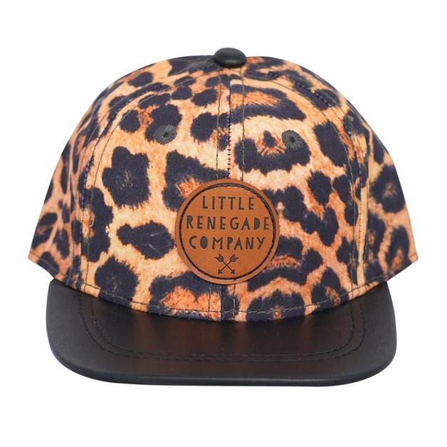 Little Renegade Company: Leopard Print Cap - Maxi