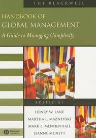 The Blackwell Handbook of Global Management - a Guide to Management Complexity image