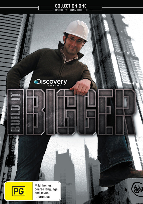 Build It Bigger - Collection 1 (Discovery Channel) (2 Disc Set) on DVD