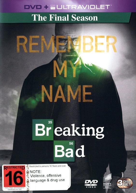 Breaking Bad - The Final Season on DVD