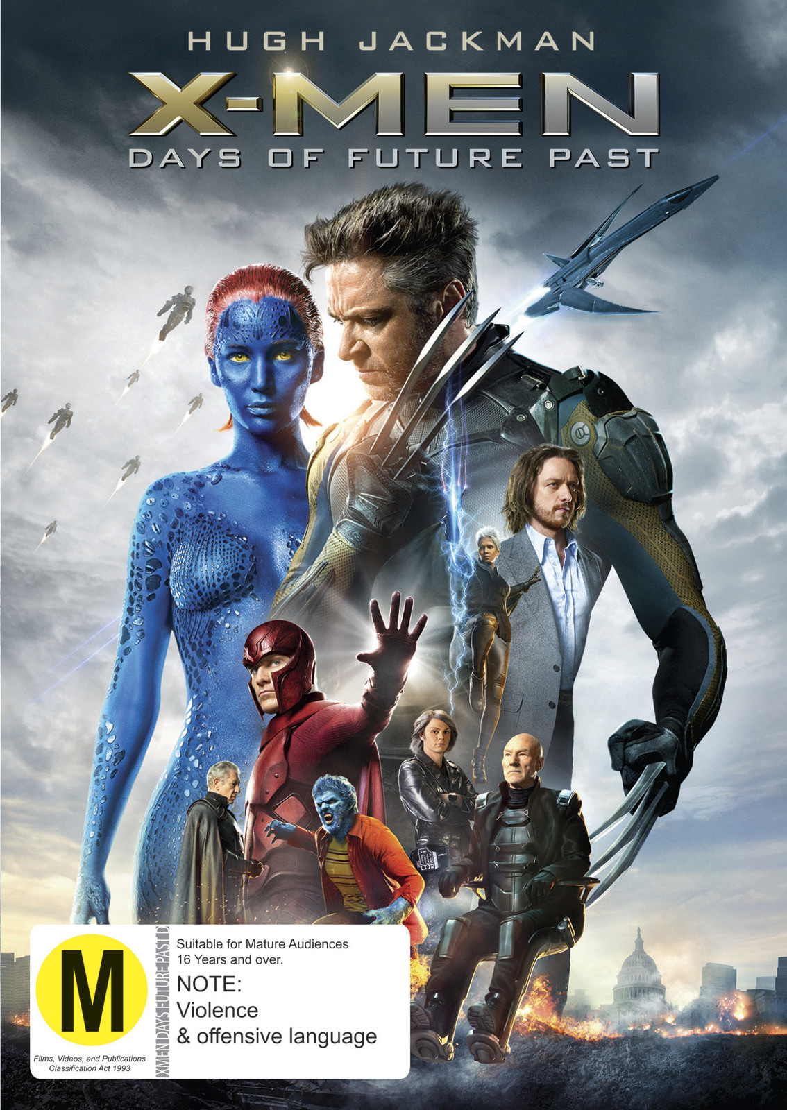 X-Men: Days of Future Past on DVD image