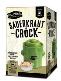 Mad Millie - Sauerkraut Crock