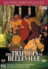 The Triplets Of Belleville on DVD