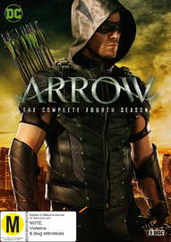 Arrow - The Complete Fourth Season on DVD