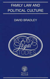 Family Law and Political Culture: Institutional Perspectives on Scandinavian Law by D. Bradley image
