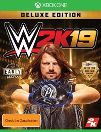 WWE 2K19 Deluxe Edition for Xbox One