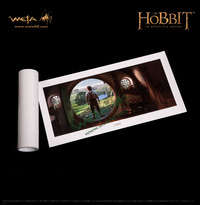 "The Hobbit 23"" Art Print: An Unexpected Journey - by Weta"