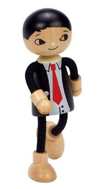 Hape: Dad Wooden Doll image