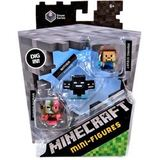 Minecraft Collectible Figures 3 Pack - Fishing Steve