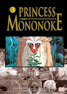 Princess Mononoke Film Comic, Vol. 3 by Hayao Miyazaki