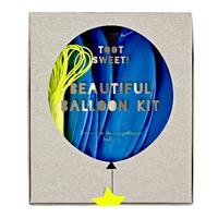 Meri Meri - Blue Beautiful Balloon Kit