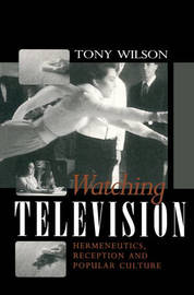 Watching Television by Tony Wilson