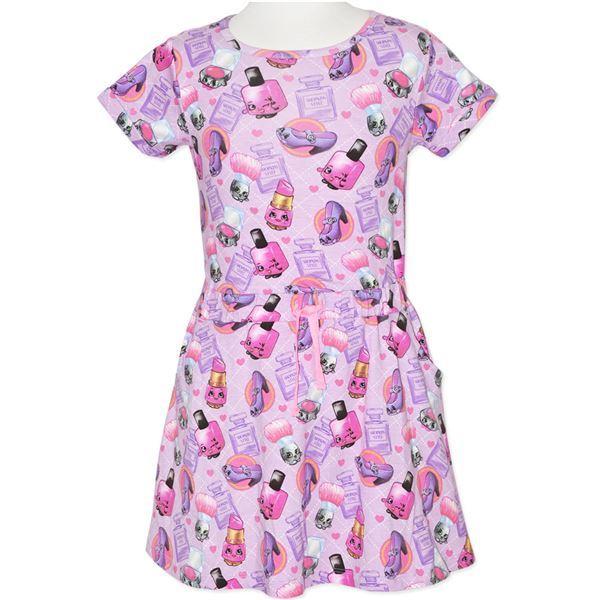 Shopkins Makeup T-Shirt Dress (Size 10)