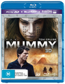 The Mummy (2 Disc Set) (2017) on Blu-ray, 3D Blu-ray