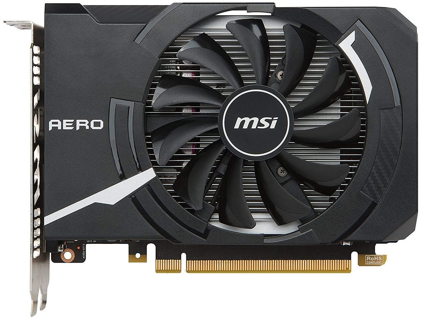 MSI GeForce GTX 1050 Aero 2GB OC V1 Graphics Card image