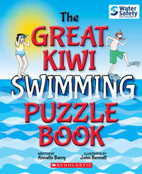 The Great Kiwi Swimming Puzzle Book by Annette Barry