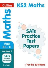 KS2 Maths SATs Practice Test Papers by Collins KS2 image