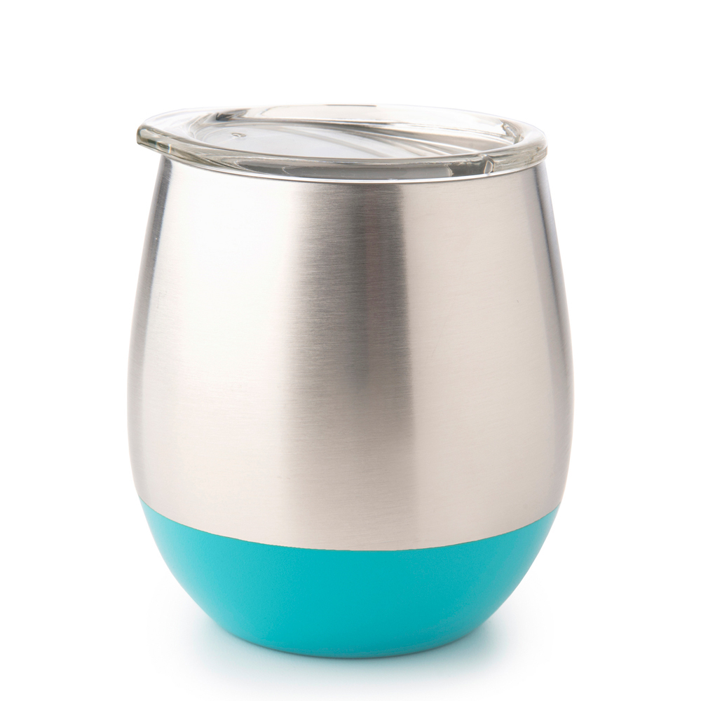 Stainless Steel Insulated Glass - Turquoise (240ml) image
