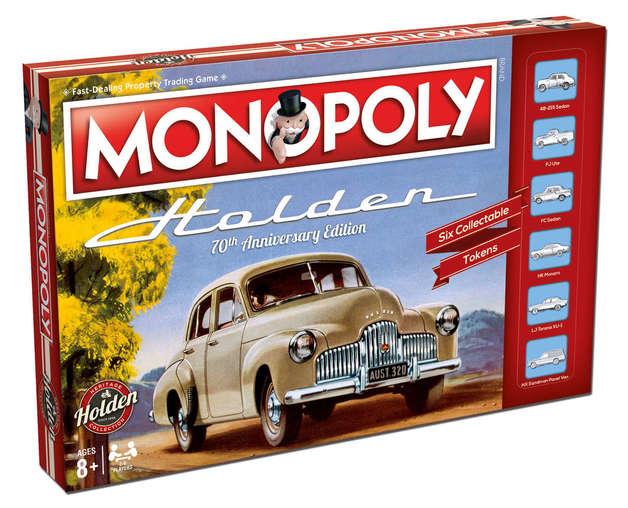 Monopoly: Holden Heritage
