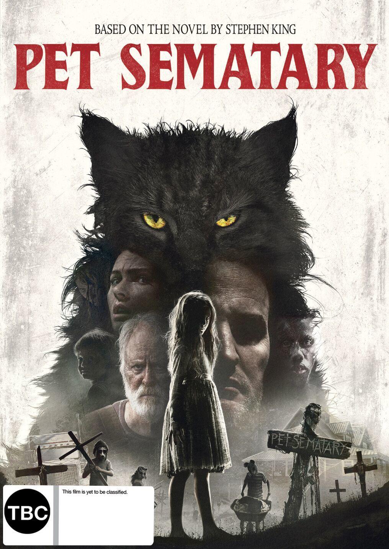 Pet Semetary (2019) on DVD image