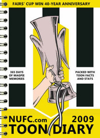 "NUFC.Com Toon Diary 2009 by Mike ""Biffa"" Bolam image"
