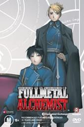 Fullmetal Alchemist Vol 03 - Equivalent Exchange on DVD