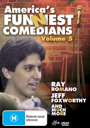 America's Funniest Comedians - Vol. 5 on DVD
