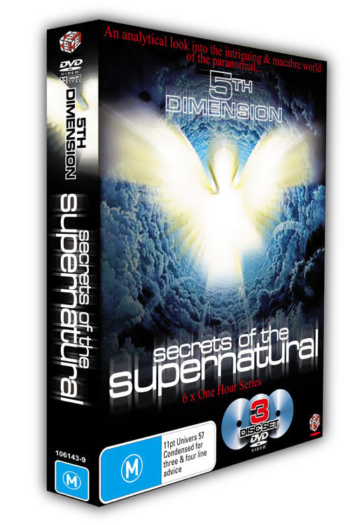 5th Dimension - Secrets of the Supernatural Box Set on DVD image