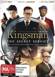 Kingsman: The Secret Service DVD