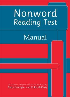 Nonword Reading Test: Specimen Set by Frances Martin image