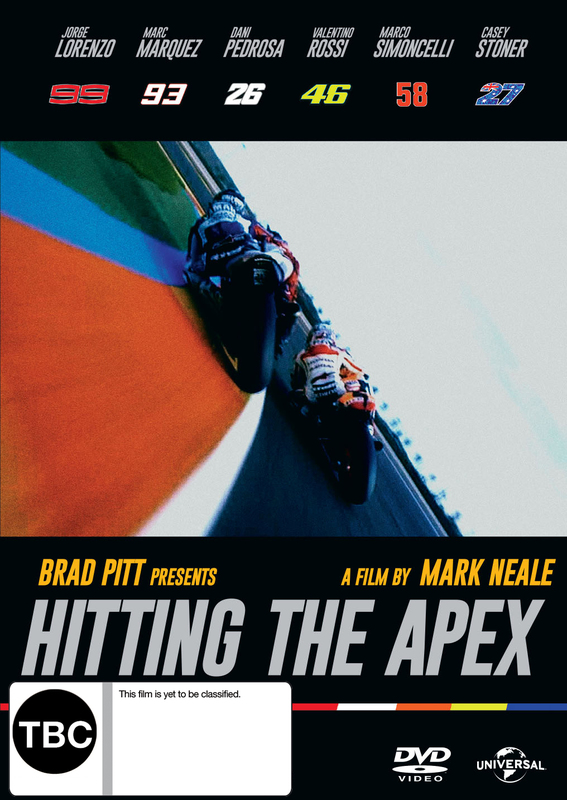 Hitting The Apex on DVD