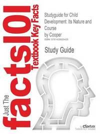 Studyguide for Child Development by & Sroufe & Dehart & Sroufe & Cooper image