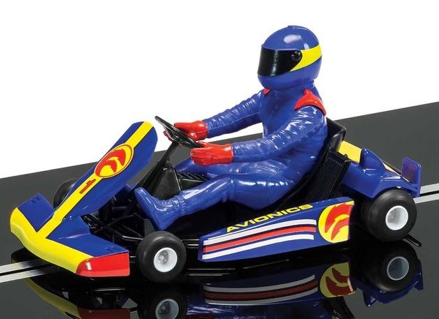 Scalextric: DPR Super Kart (Blue) - Slot Car