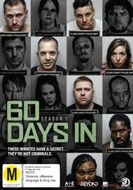 60 Days In - Season 1 on DVD