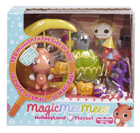 Magic MeeMees: Figure Playset (Holidayland)