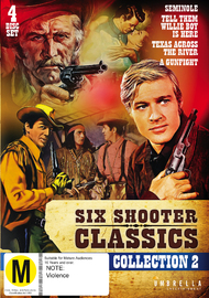 Six Shooter Classic: Western Collection - Vol 2 on DVD