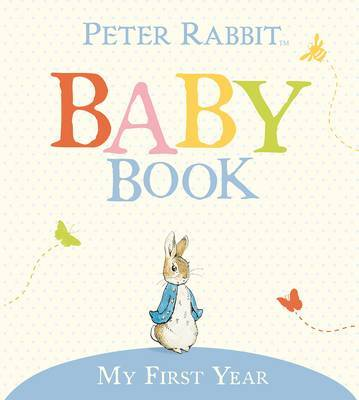 The Original Peter Rabbit Baby Book by Beatrix Potter image