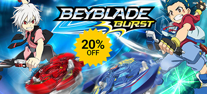 20% off Beyblade