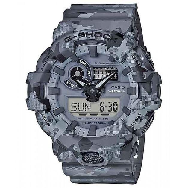Casio G-shock GA700CM-8A Grey Camouflage Men's Watch