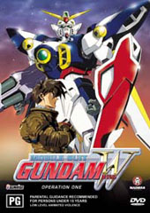 Gundam Wing - 1 on DVD